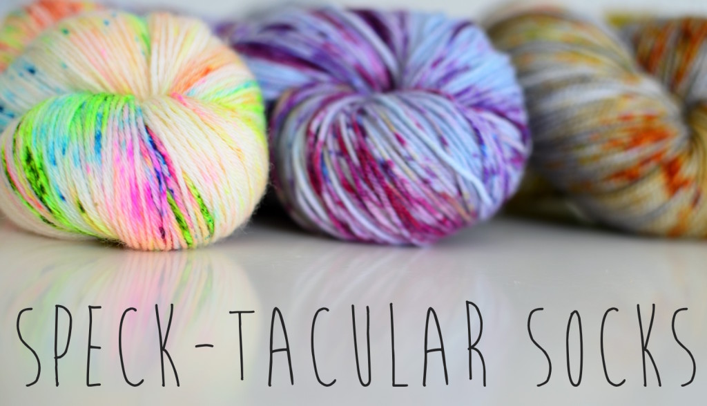 Speck-tacular sock knitting